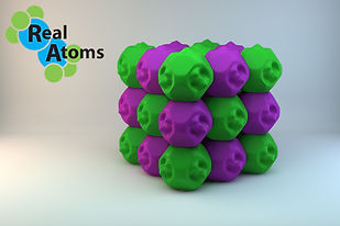 Molecular Model Sodium Chloride NaCl