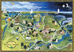 Southern Broads Map
