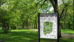 Urban Park Signs
