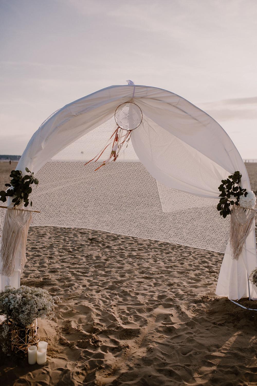 Cérémonie - Amour - Plage - Soleil - Photographe mariage - Photographe Normandie - Photographe Nord - Photographe Soissons - Photographe Provence
