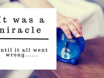 It was a miracle....until it all went wrong!