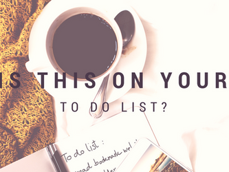 Is this on your to do list?