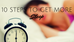 10 Steps to get more sleep