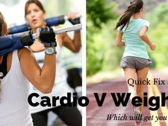 Quick Fix – Will cardio or weights get me toned?