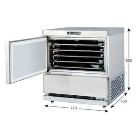 菓子冷却専用機 パティシエクーラー QFP-005BC