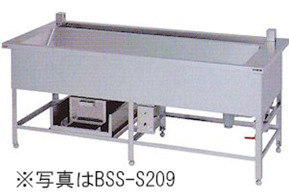 シャワーシンク(光電管センサー使用) BSS-S209 幅2000×奥行900×高さ850