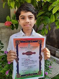 All India Child Art Exhibition Winner