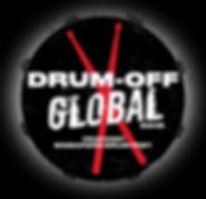 Drum off 2019 logo (black bg and speckle
