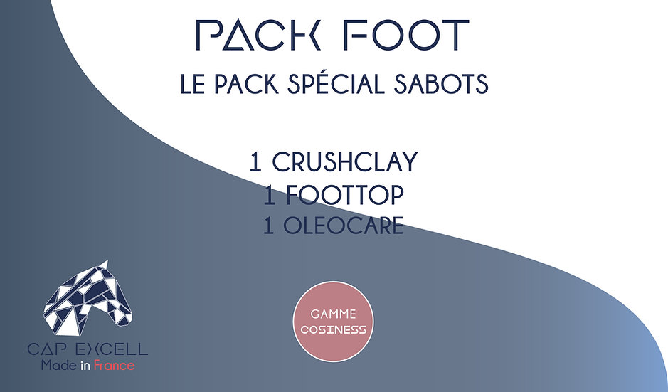 PACK FOOT (sabots)