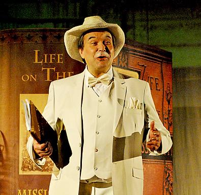 Thomas Waldkircher als Mark Twain