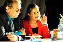 Thomas Waldkircher und Anja Pirling in R