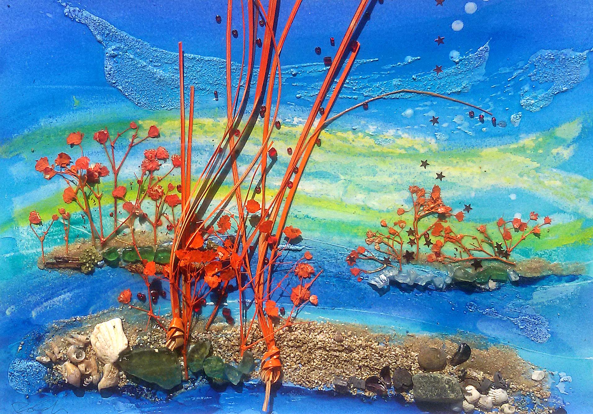 Movimento con corallo rosso
