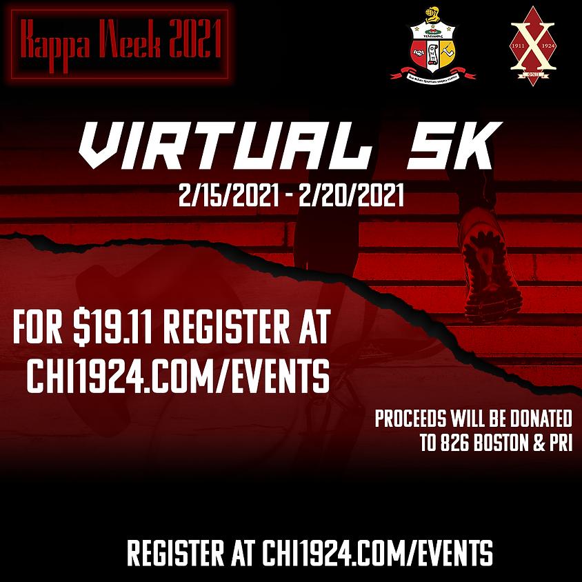 Kappa Week 2021: Virtual 5K
