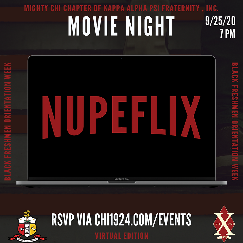 Nupeflix: Movie Night