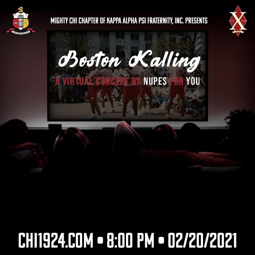 Kappa Week 2021: Boston Kalling - A Virtual Concert