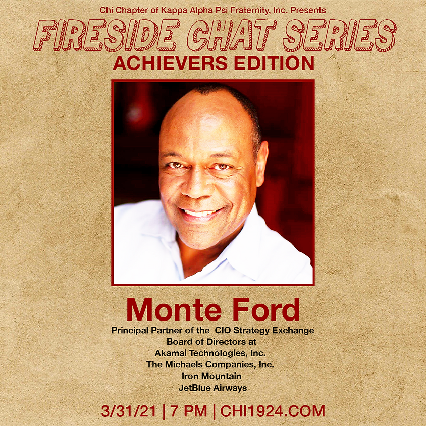 Fireside Chat: Achievers Edition ft. Monte Ford