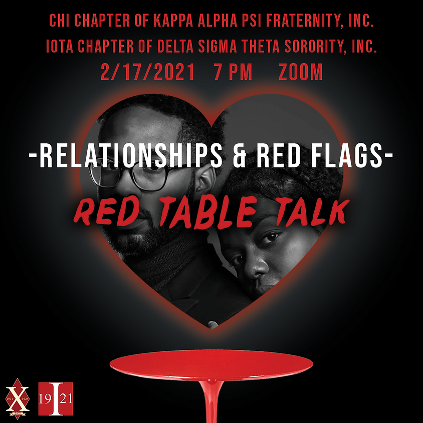 Kappa Week 2021: Relationships & Red Flags X Red Table Talk
