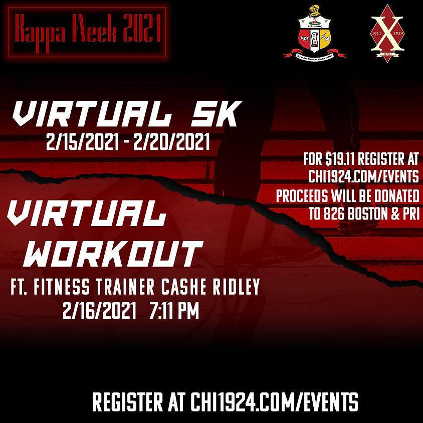 Kappa Week 2021: Virtual Workout