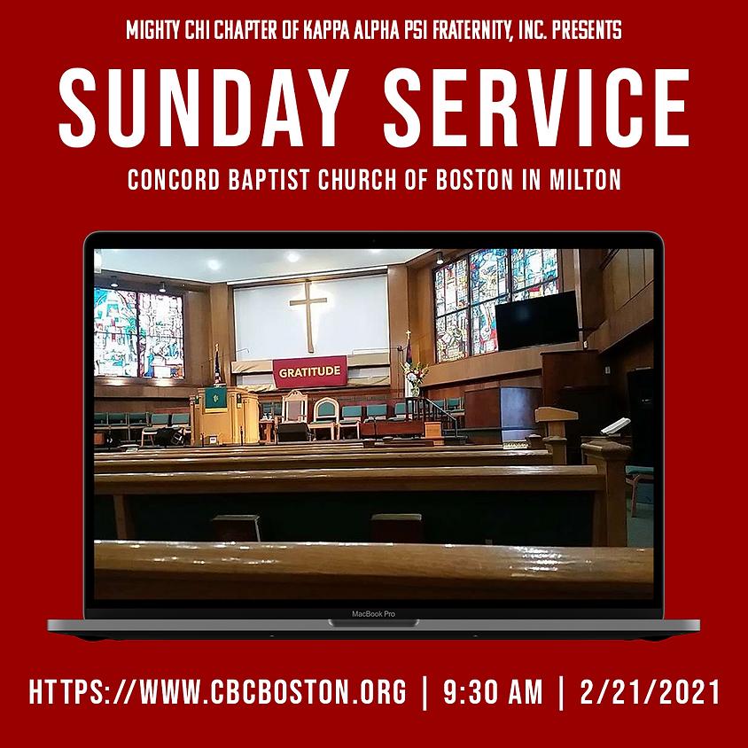 Kappa Week 2021: Sunday Service