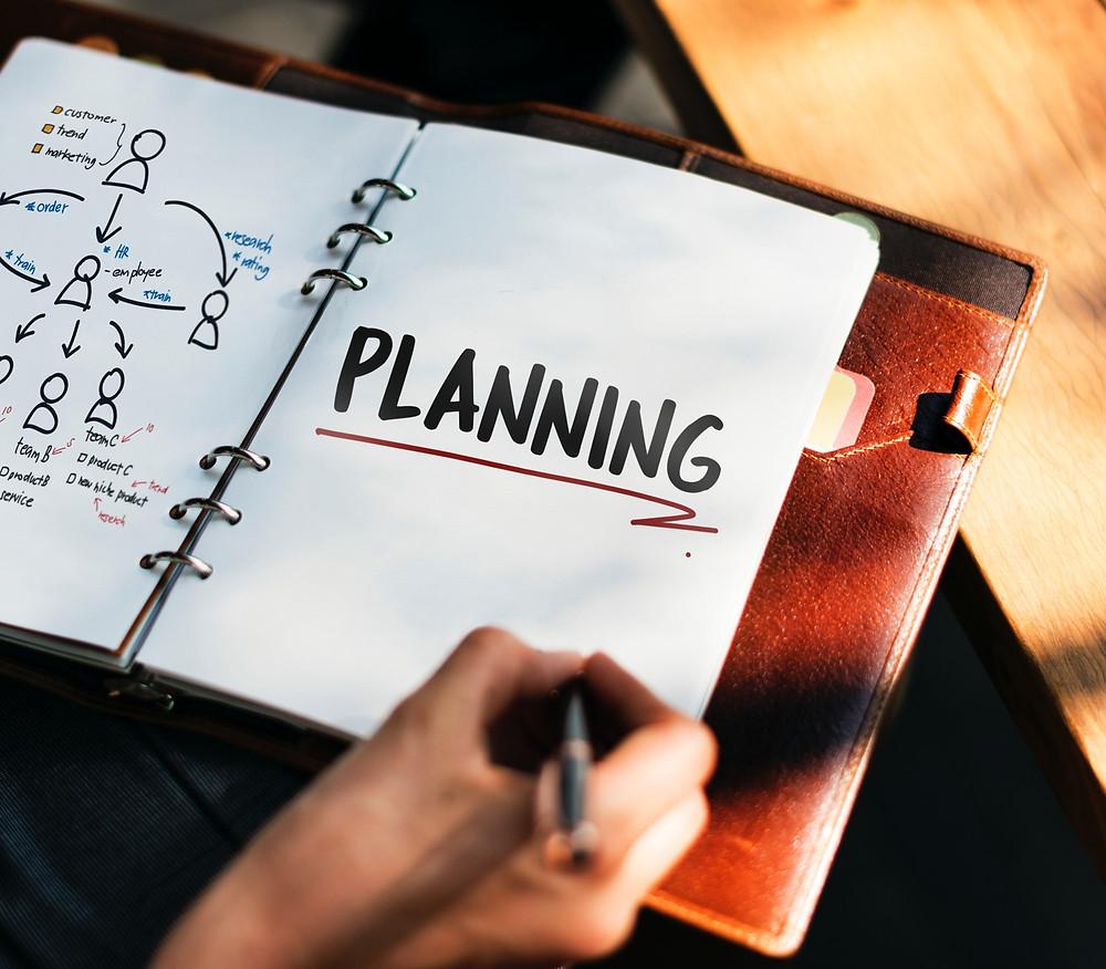 planning goals journal
