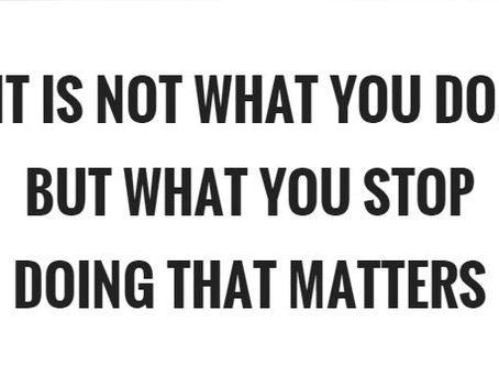 STOP! Just Stop Doing It & Improve Your Leadership Instantly.