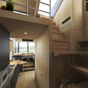 """LADDER TO LOFT ROOMS AND LOFT TERRACE """"AVENUE"""""""