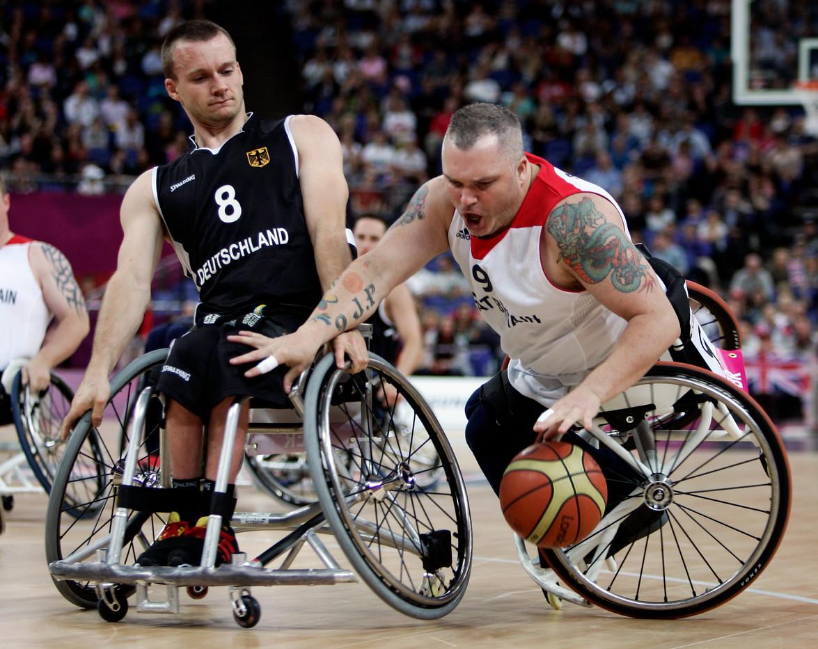 Wheelchair Basketball Pollock