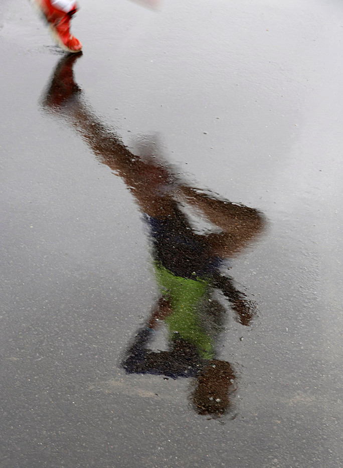 Reflections in the Rain