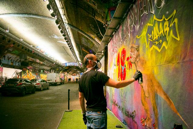 Aures London graffiti branding9.png