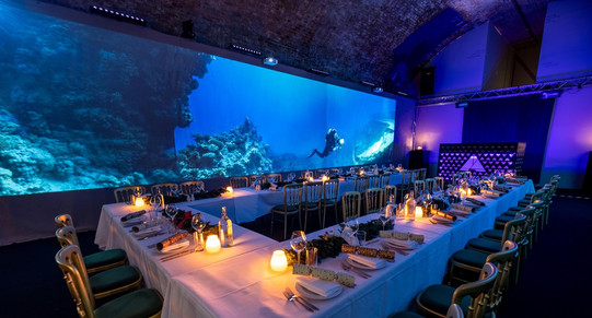 Aures London immersive experience diner.