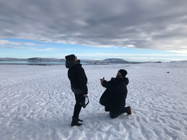 OUR FIRST ENGAGEMENT IN ICELAND