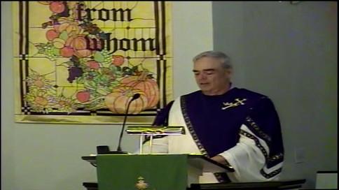 Sermon - November 24 We Can Never Thank