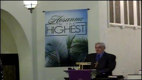 March 29 2021 - Sermon - Palm Sunday - K
