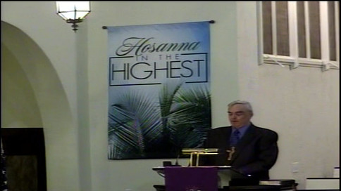 March 29 2021 - Sermon - Palm Sunday - K