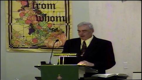 Sermon - November 17 The Millennium and