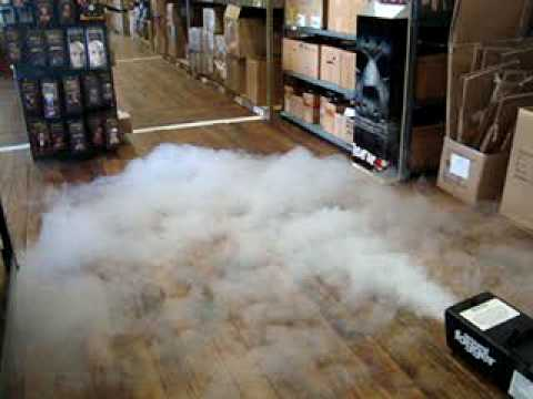 ground fog machine
