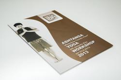 Flyerdesign für einen Yoga Workshop