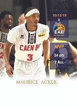 185 2019-20 XKYS MVP Maurice Acker recto