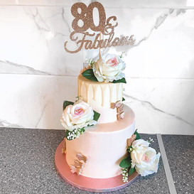 80 and fabulous! 💫__Can you beat pink a