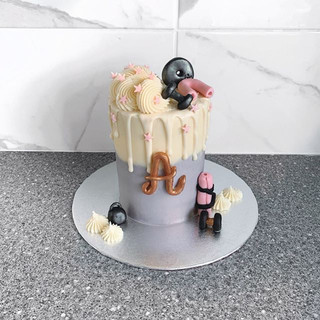 A cake for those who feel guilty about e