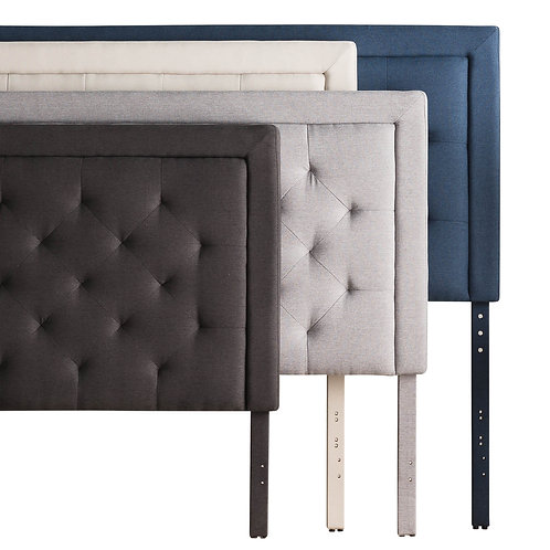 Structures Rectangle Diamond-Tufted Headboard