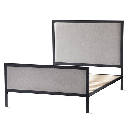 Malouf Clarke Metal Upholstered Bed