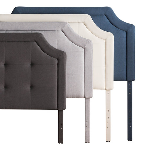 Structures Scooped Square-Tufted Headboard