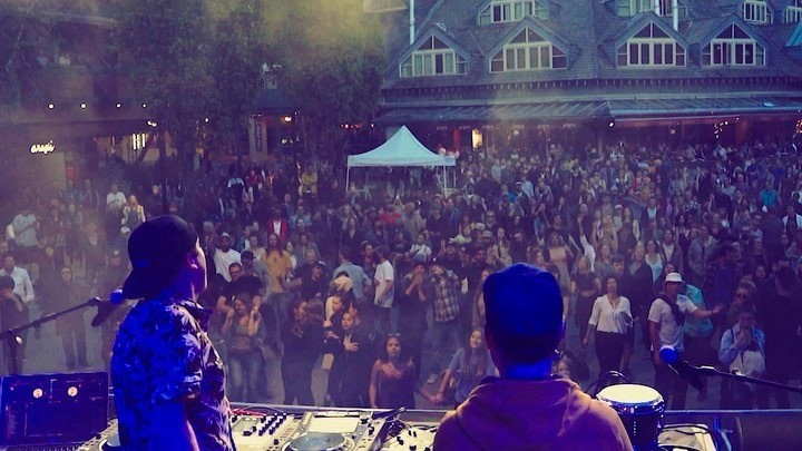 Recap things from our set at GO Fest! Next up in Lazy-Land: High Frequency Gathering & Bass Coast in July, then Shambhala in August 💛🎺🎤🎶💦🌳 🎥= Alex Moffet