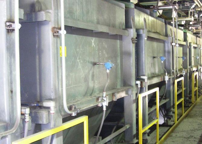 DRI Day bins on load cells N- Purge_edit
