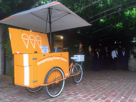 Wedding ice cream cart hire Melbourne