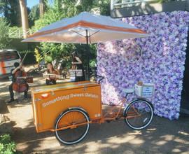 Gelato cart hire for Melbourne wedding