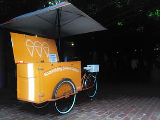 Food truck ice cream van Melbourne wedding