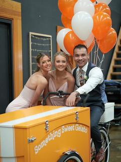 Ice cream cart hire Melbourne wedding