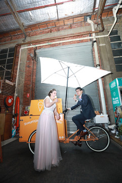 Gelato cart hire for wedding in Melbourne